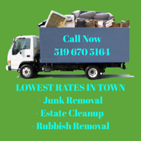 Junk Removal, Estate Clean up, Rubbish, Garbage, Low Rates