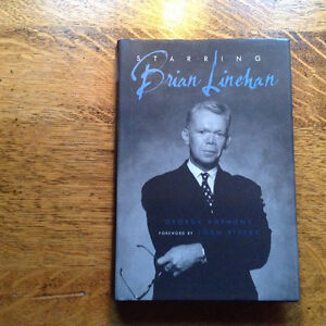 Starring Brian Linehan by George Anthony[Inscribed]