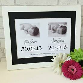 Unique personalised frames & mounts