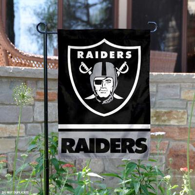 Oakland Raiders Garden Flag and Yard Banner