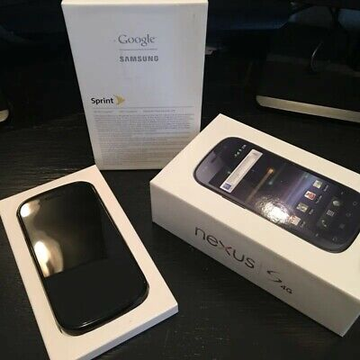 Samsung Nexus S 4G - 16GB - Black Sprint Smartphone