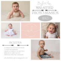 Mini Sitter Photography Session