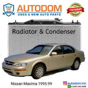 New Condenser and Radiator Nissan Maxima 1995-99