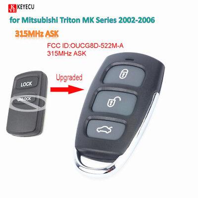 U135 Series - Remote Car Control Key Fob 315MHz for Mitsubishi Triton MK Serie 2002-06 FreePro
