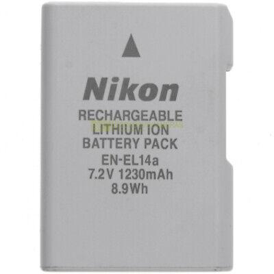 Batteria Nikon EN-EL14a originale per Nikon DF D5300 D5200 D5100 D3300 .