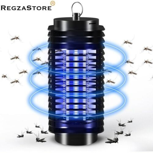 Electric Insect Mosquito Fly Killer Bug Zapper UV Home Indoor Pest Catcher Lamp