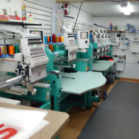 Experienced Embroidery, digital printing order management person