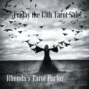 Friday the 13th Tarot Sale!