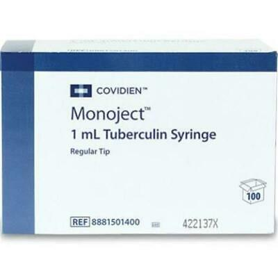 Mckds Monoject Tuberculin Syringe 1 Ml Luer Slip Tip Without Safety Box Of 100