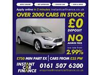 Ford Focus Zetec Tdci Hatchback 1.5 Manual Diesel GOOD/BAD CREDIT CAR FINANCE
