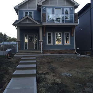 New Basement suite for rent in Bonnie Doon - 2 mins to Downtown