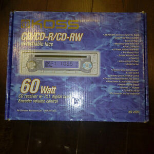 KOSS Car Audio CD/CD-R/CD-RW detachable face 60 Watts (NEW)