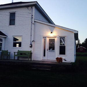 House and 100 acre blueberry land and woodlot, Tidnish, NS