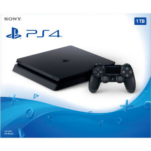 Playstation 4 Slim 1TB and 2 Games