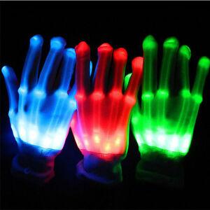 Flashing Multi-Color Electro LED Light Up Rave Gloves - NEW Kitchener / Waterloo Kitchener Area image 2