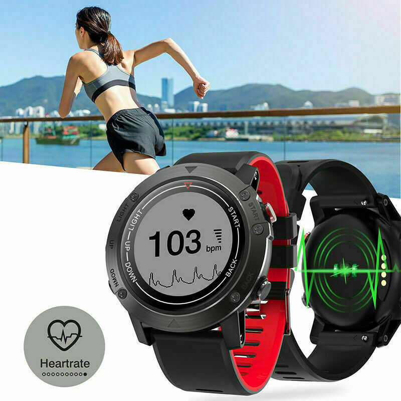 GPS Running Watch Smart Watch Fitness Tracker Walking Heart