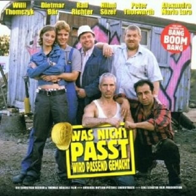 WAS NICHT PASST WIRD PASSEND GEMACHT CD SOUNDTRACK NEU