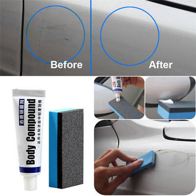 Car Clear Scratch Remover Touch Up Auto Paint Care Wax Paste Polish Repair
