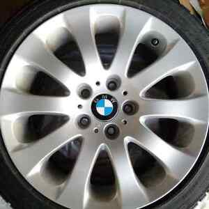 BMW Factory Rims and Tires with Excellent Tread! Kitchener / Waterloo Kitchener Area image 3