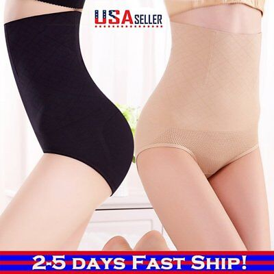 (Women body Shaper Control Slim Tummy Corset High Waist Design Panty Underwear US)