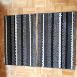 Small and long rugs