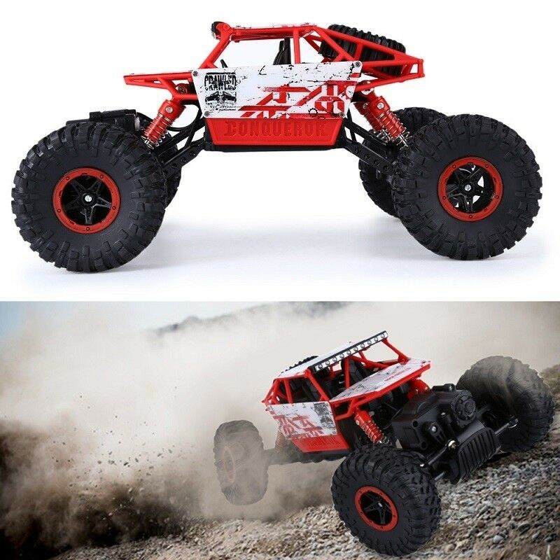 HB P1803 RC Cars 4WD 2.4Ghz Rally Climbing Car 1/18 Scale Radio Control Car Soli