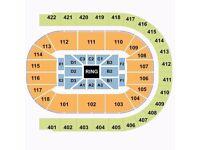 Bellew v Haye II - O2 Arena - Lower Tier (Block 101)
