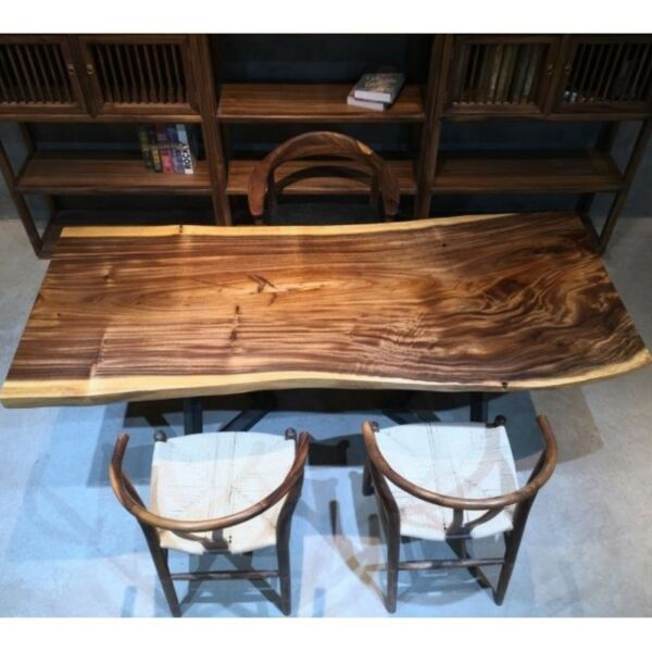 TSAW 035 South America Walnut Solid Wood Dining Table