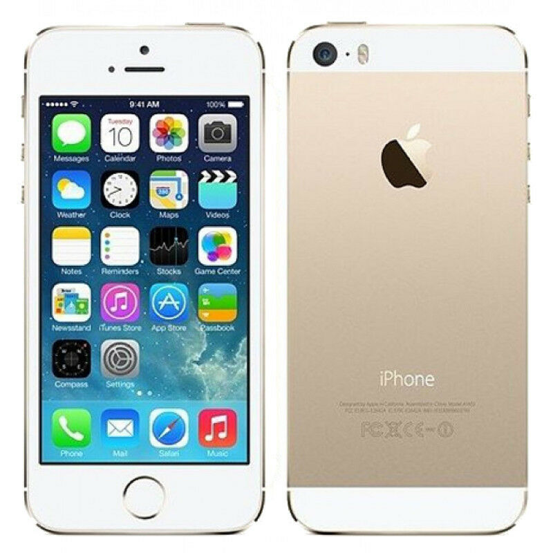 Apple iPhone 5s 16GB 32GB 64GB Smartphone Unlocked and Network Locked