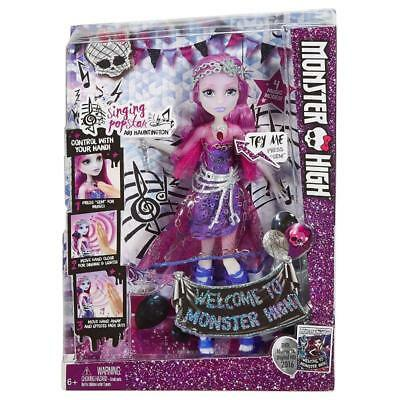 MONSTER HIGH ARI HAUNTINGTON SINGING POPSTAR FASHION DOLL TOY
