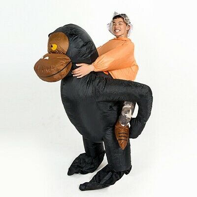 Gorilla Costumes For Adults (Inflatable Gorilla Costume For Adults Halloween Fun Party USA SELLER free)