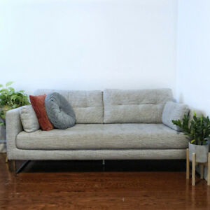 Grey Fabric Structube Sofa/Couch $450
