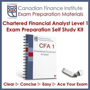 CFA Kaplan Schweser Level 1 2018 Study Textbooks