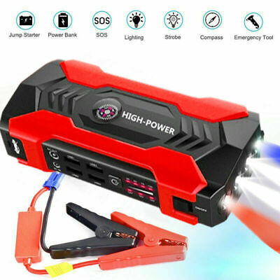 Car Jump Starter, 20000mAh Portable Charger Power Bank with LED Flash Light