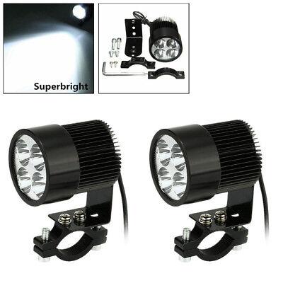 12V 4LED Headlight Spot Light DRL Driving Fog Lamp for Universal Motorcycle