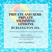 Summer Swimming Lessons (Private and Semi-Private)