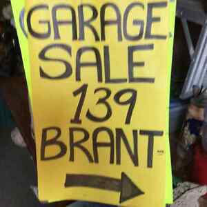 Moving/Garage Sale. Saturday, June 25  139 Brant Ave. Guelph