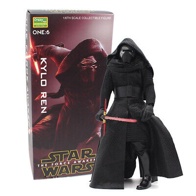 """Crazy Toys Kylo Ren 12"""" The Star Wars Scale 1/6 Action Figure Model Collection"""