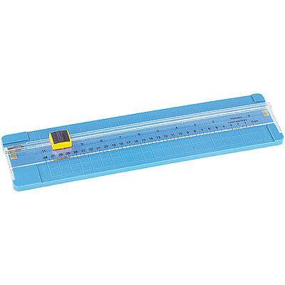 Schneidebrett Papier: A4-Papierschneidemaschine mit Ersatzklinge (Fotoschneider)