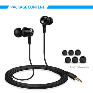 In-Ear Noise Isolating Wired Earphones - New in Box