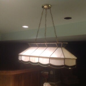Light Fixture- over Pool Table