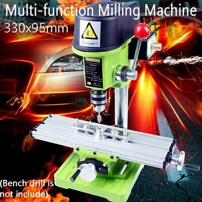 Milling Working Table Milling Machine Desk Drill Vise Adjustment Coordinate