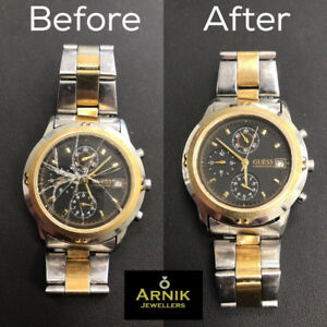 Replace your broken crystal glass for any watch