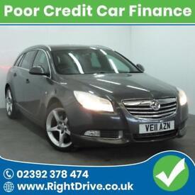 POOR CREDIT? NEED A CAR? Vauxhalll Insignia 2.0 SRi VX-Line CDTI 11-2011 Diesel