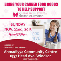 WANTED CANNED GOODS- TO HELP SUPPORT THE WOMEN'S SHELTER