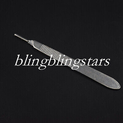 1 Pcs Dental Surgical Scalpel Sterilized Blades Knife Handle 34 2 Sizes Opt