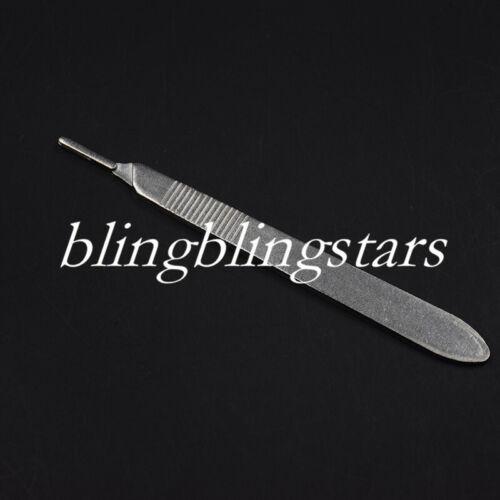1 Pcs Dental Surgical Scalpel Sterilized Blades Knife Handle 3#/4# 2 Sizes Opt