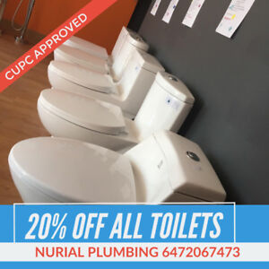 DUAL FLUSH WATER SAVING HIGH EFFICIENCY TOILETS ONE PIECE TOILET