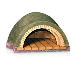 Fire brick wood burning pizza oven