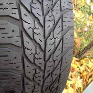 Set of 4 Goodyear winter tires 205//60/16 West Island Greater Montréal image 1